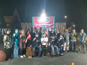 Paus Sastra Lampung Baca Puisi di Rumah Aspirasi Metro Bahagia