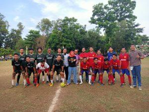 Anna Buka Final Sepakbola Mini Banjarsari Cup