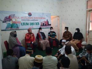 Bamusi Lampung Peduli Kaum Du'afa