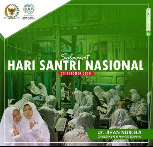 Peringati Hari Santai, Senator dr. Jihan Nurlela Desak Pemerintah Terbitkan Aturan Turunan UU Pesantren