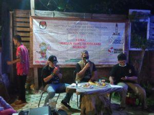 Sasar Komunitas Pegiat Seni, KPU Sosialisasi Ayo ke TPS