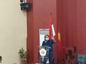 Taufik Basari Bedah UU Ciptaker depan Puluhan Mahasiswa Lampung