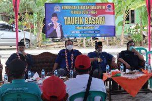 Bertemu Kelompok Tani Lampung Selatan, ini Harapan Taufik Basari