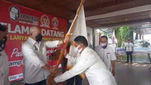 Bustami Zainudin Dampingi Ketua DPD RI Launching La Nyalla Academic FC Lampung di Waykanan