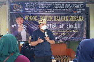 Taufik Basari: Pokok-pokok Haluan Negara Dorong Pembangunan Provinsi Lampung