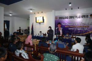Wakil Ketua Badan Sosialisasi MPR Bicara Kedewasaan Berdemokrasi